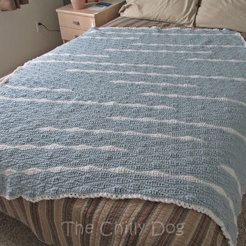 Spacious Skies: Crochet Afghan Pattern PDF