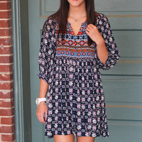 Keep It Coming Tunic/Dress {Navy}