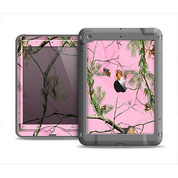 The Pink Real Camouflage Apple iPad Mini LifeProof Nuud Case Skin Set