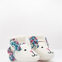 Hare Babynprslrpg Slippers | Joules UK
