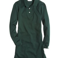 Long-Sleeve Polo Dress - Brooks Brothers