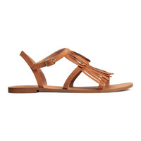 H&M Sandals with Fringe $24.99