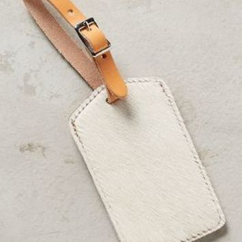 Graf & Lantz Calf Hair Luggage Tag
