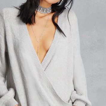 Haute Rogue Surplice Sweater