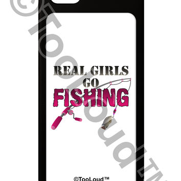 Real Girls Go Fishing iPhone 5 / 5S Grip Case