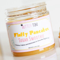 Fluffy Pancakes Scented Sugar Smoothie Body Scrub 4oz