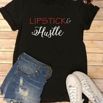 Lipstick and Hustle Fancy