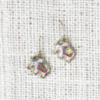 Storybook Elephant Earrings