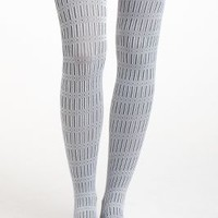 Maruska Tights by Hansel from Basel Grey S/m Socks