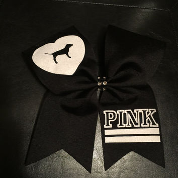 Victoria's Secret Pink glitter sparkle Cheer bow!!!