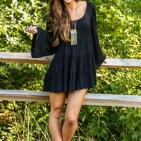 Beautiful Calm Dress-Black