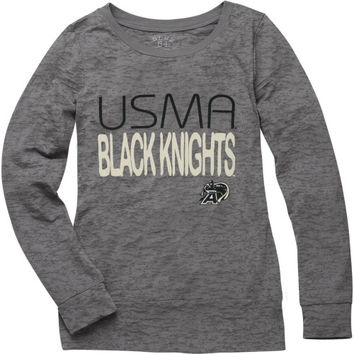 Army Black Knights Women's Bandage Long Sleeve Burnout T-Shirt