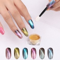 XBL007  fashion NEW Shining Nail Glitter Powder Coloured Nail Dust Powder Mermaid Manicure Nail Art Glitter