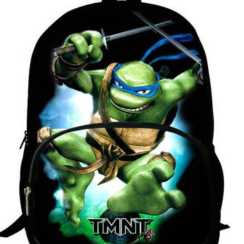 16-inch Mochila Teenage Mutant Ninja Turtles Backpack Kids Boys Bags Children School Bags For Teenagers Ninja Turtles Bag