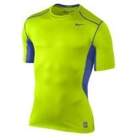 Nike Store. Nike Pro Combat Hypercool 2.0 Fitted Short-Sleeve Men's Top