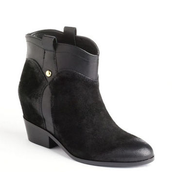 Ivanka Trump Trixie Suede Ankle Boots