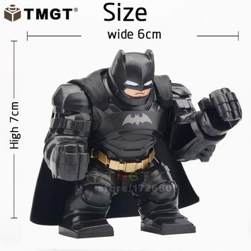 Batman Dark Knight gift Christmas TMGT Single Sale Big Size Super Heroes The Avengers Batman Movie Bane Hulk Thanos Clayface Building Blocks Children Toys Gift AT_71_6