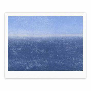 Ocean - Blue Abstract Watercolor Fine Art Gallery Print