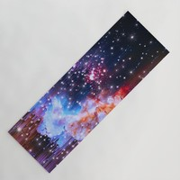 StarField Yoga Mat by duckyb