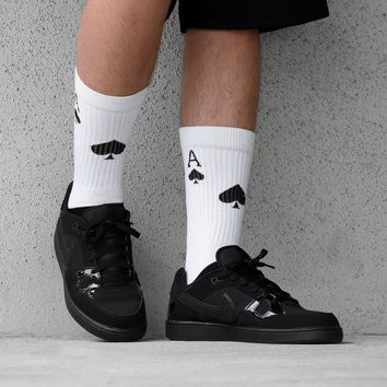 Aces of Spades soft socks