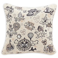 disney parks vacation club member pillow new with tags