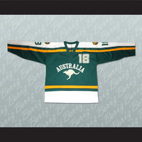 Australia National Team Hockey Jersey Any Player or Number