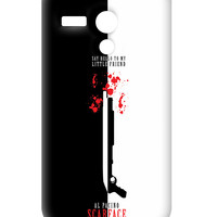 Say Hello To My Little Friend Al Pacino Moto G Case | Artist: Abhinav Anand