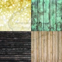 Combination 4 Pack Product Backdrop Woods Set 2