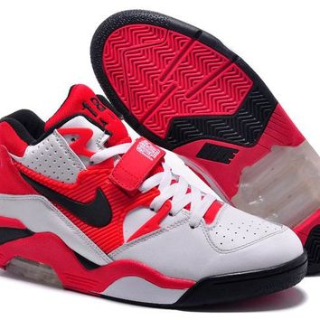 Nike Air Force 180 Mid Charles Barkley Red White Black 310095-106 - Beauty Ticks