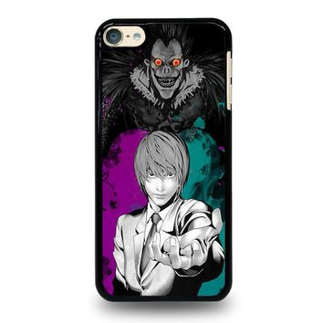 light and ryuk death note ipod touch 6 case cover  number 1