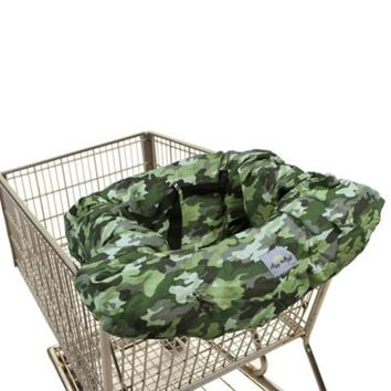 Itzy Ritzy® Sitzy Shopping Cart and High Chair Cover in Camo