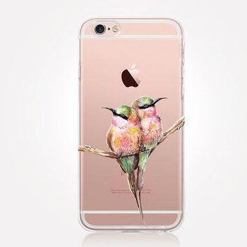Transparent Hummingbirds Phone Case  - iPhone 6 Case - iPhone 5 Case - iPhone 4 Case - Samsung S4 Case - iPhone 5C - Tough Case - Matte Case