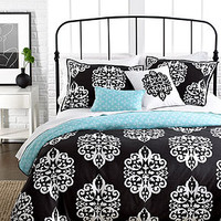 CLOSEOUT! Sunset and Vines Dalton 5 Piece Comforter and Duvet Cover Sets