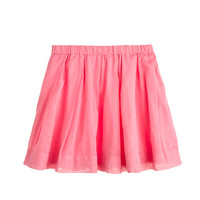 crewcuts Girls Pleated Organdy Skirt
