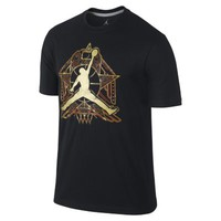 Nike Jordan Crescent City Jumpman Men's T-Shirt - Black