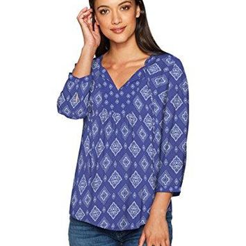 NYDJ Womens Starr Blouse