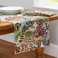 SPRING BLOSSOM PRINT TABLE RUNNER