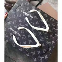 LV Fashion Casual Flip Flops Slipper Sandals Shoes