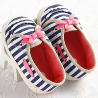 2015 Fashion Sweet New Kids Newborn Baby Girl Bow Shoes Toddler Mary Jane First Walker Footwear Anti-sip Infant Shoes Bebe Shoes
