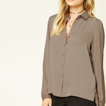 Contemporary Satin Shirt