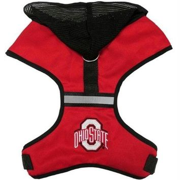 DCCKT9W Ohio State Buckeyes Pet Hoodie Harness