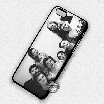 Youtubers Black and White - iPhone 7 6 Plus 5c 5s SE Cases & Covers