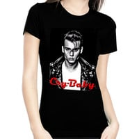 Cry Baby Leather Jacket Women's Tee