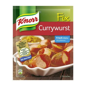 Knorr Fix Currywurst Sauce Mix, from Germany, 1.2 oz