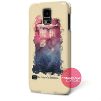 Doctor Who Tardis Pop Art Samsung Galaxy Case Cover Series