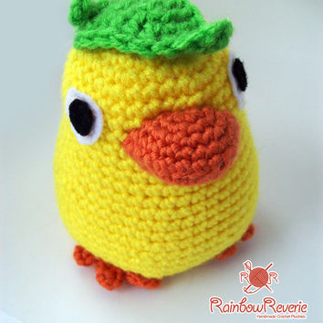 Ootori-Sama Bird Spirit Amigurumi Crochet Toy Plush