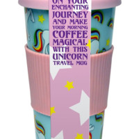 Minty Unicorn Travel Mug