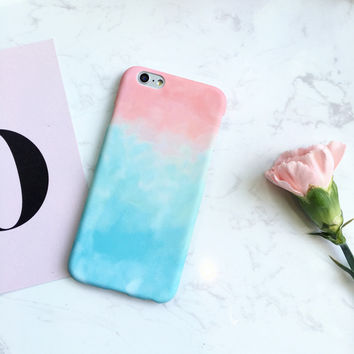 Tie-Dye Case Cover for iPhone 7 7Plus & iPhone 6s 6 Plus Gift + Gift Box