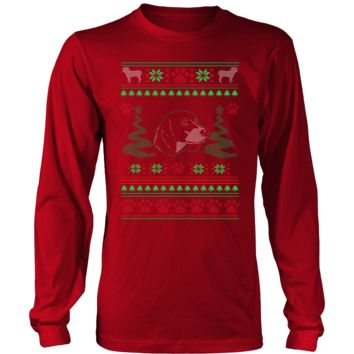 Beagle Ugly Christmas Sweater - Long Sleeve