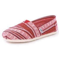 Toms Nepal Weave Classics Womens Slip On Textile Trainers